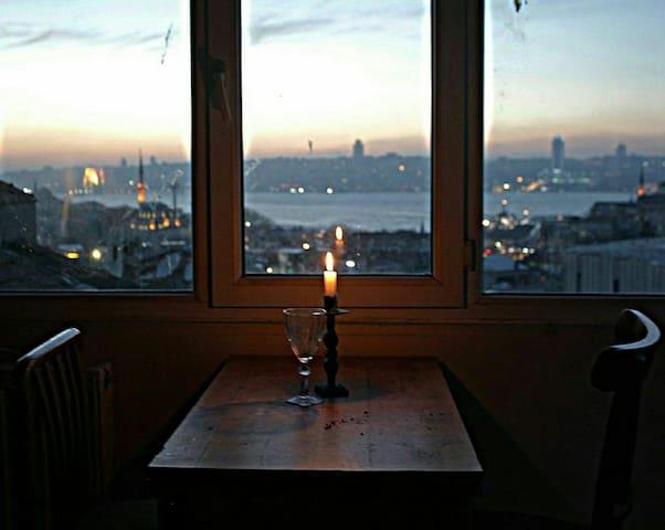 boğaz manzaralı ev - Üsküdar - Apartamento