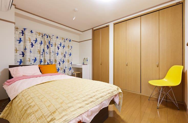 Clean 2 bedroom  Pacifico Yokohama walking area