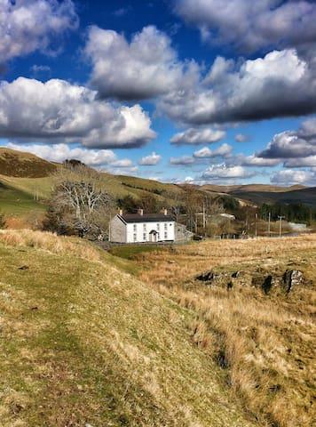 Rhydlydan, family holiday home - Ponterwyd - Casa