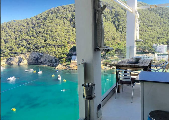Beach penthouse 4prs GRT seaviews - Cala Llonga - Daire