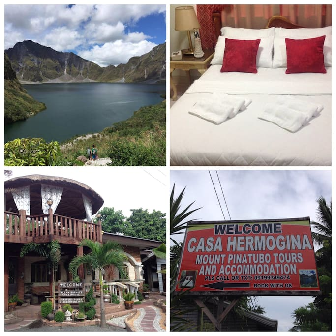 CASA HERMOGINA-Mount Pinatubo Guesthouse and Tours - Bed ...