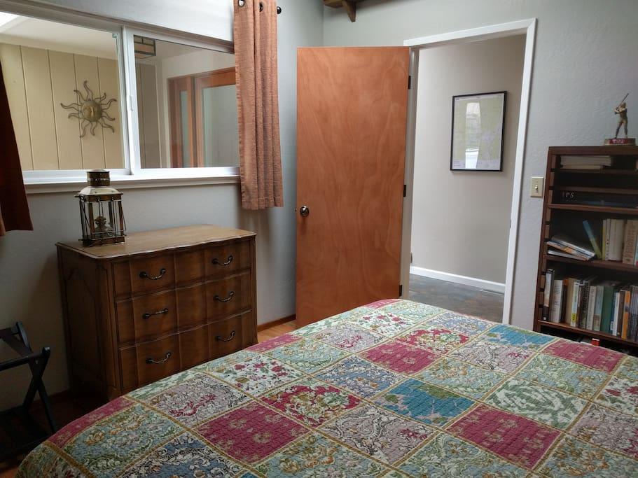 First Bedroom, off main hallway