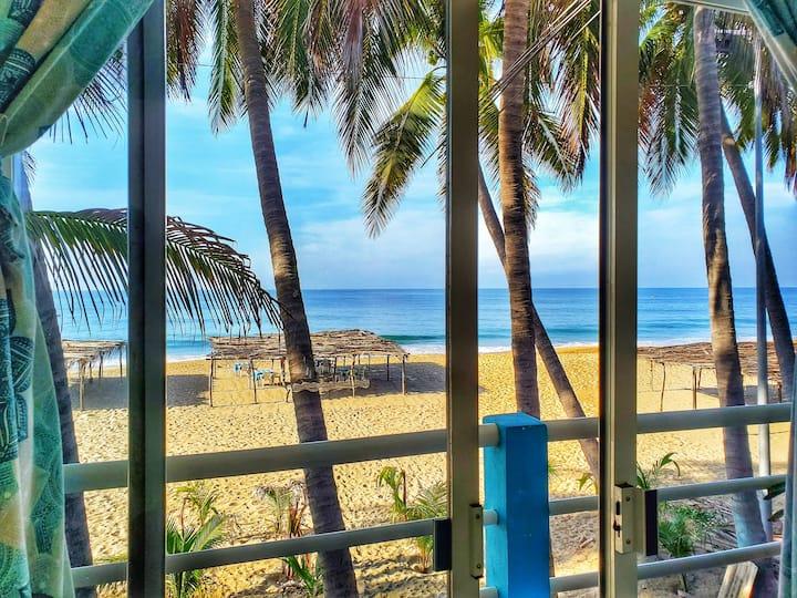 Habitación privada a un paso del Mar
