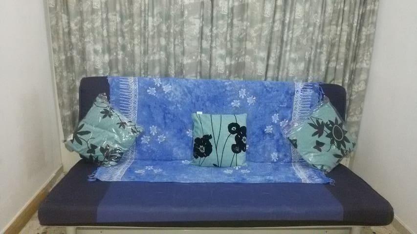 Extra comfortable sofa-bed bedroom#2