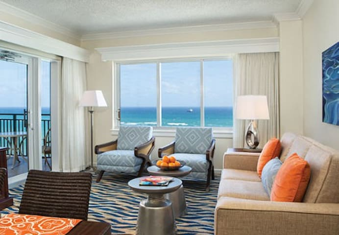Marriott Ft Lauderdale Luxury 1BD villa sleeps 4