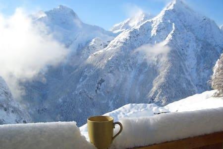 The best View in Les Deux Alpes! - Les Deux Alpes - Wohnung