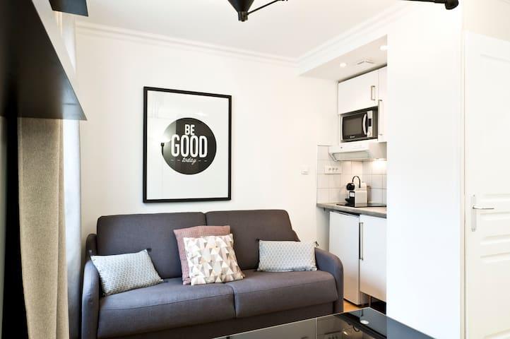 28sqm one-bedroom in Batignolles #10