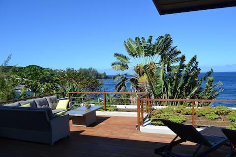 Beautiful VIP loft in Manapany-les-bains, facing the sea