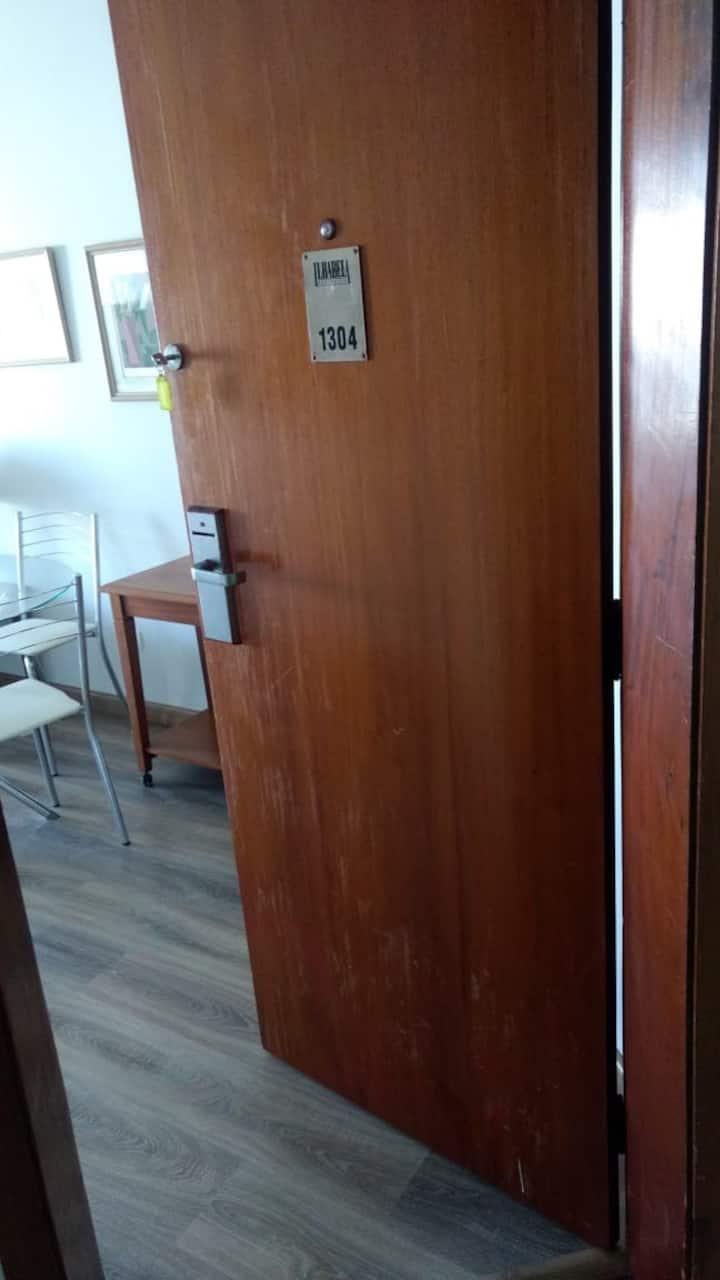 Flat mobiliado Centro | Piscina | Academia | Sauna