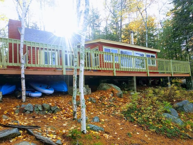 Private Lake Front With Mt Katahdin View / 2 Docks
