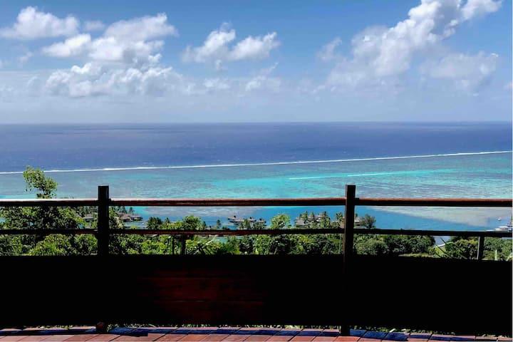 Très belle villa avec vue sur océan