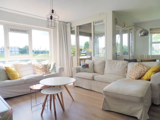 Sunny and cozy 1-bedroom apartment in Delfshaven