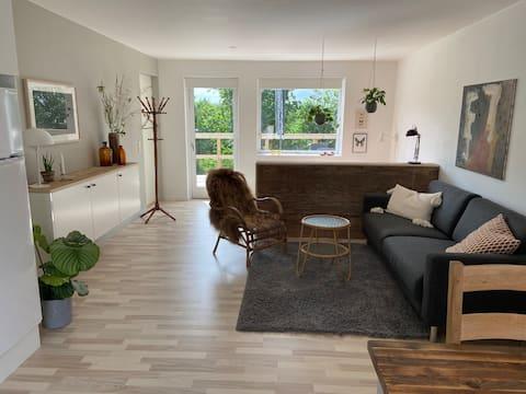 北欧アネックス田舎のアパート