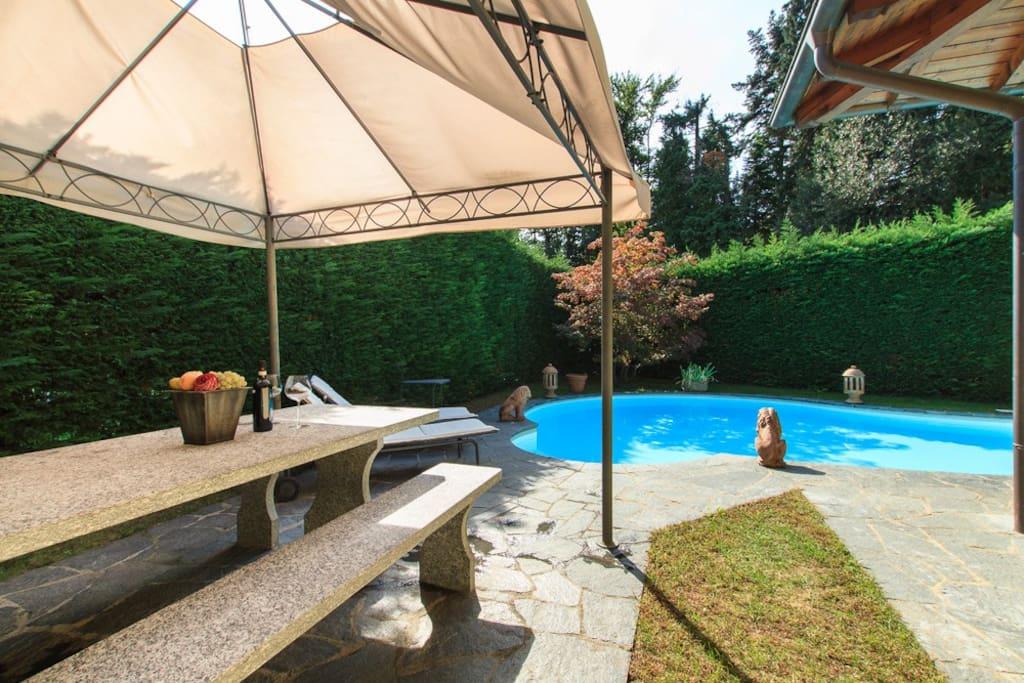 Villa Biganzolo, Verbania Lake Maggiore - NORTHITALY VILLAS Vacation Villa Rentals