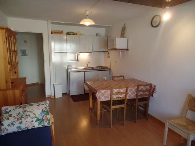 Flat Montgenevre FR 6 beds - Montgenèvre - Apartamento