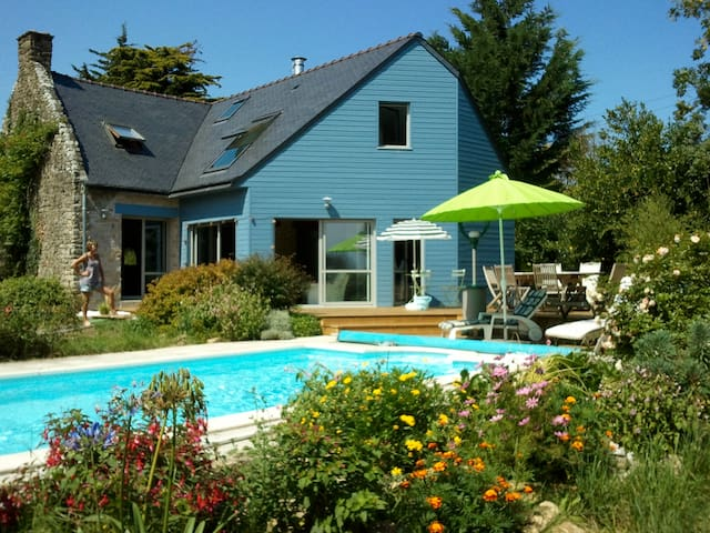 La Maison Bleue entre Terre et Mer - Muzillac - Huis