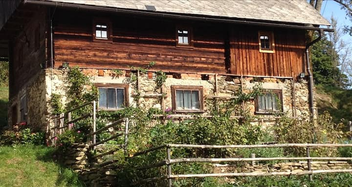 Charmantes Gästehaus am Waldrand in alpiner Lage