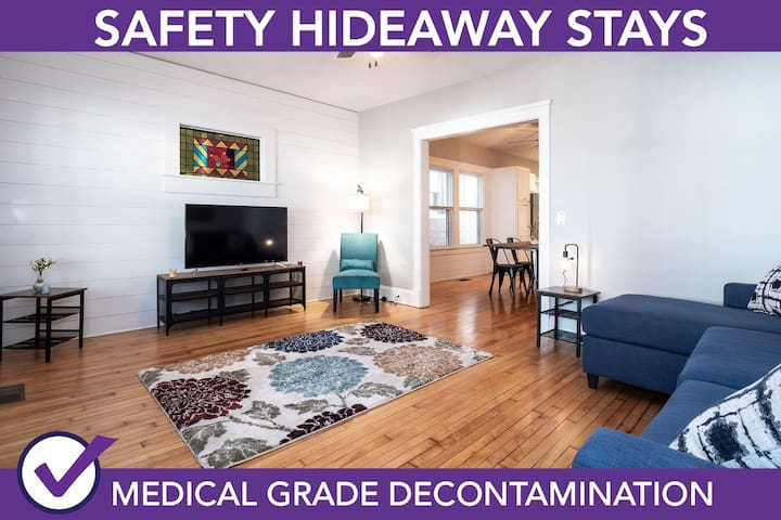 Safety Hideaway - Medical Grade Clean Home 111