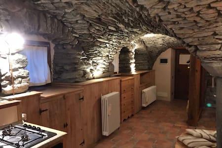 Romantic stone cosy apartment.