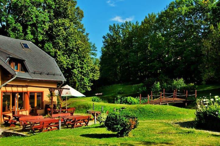 Idylla w pięknym ogrodzie - jeleniogórski - Pis