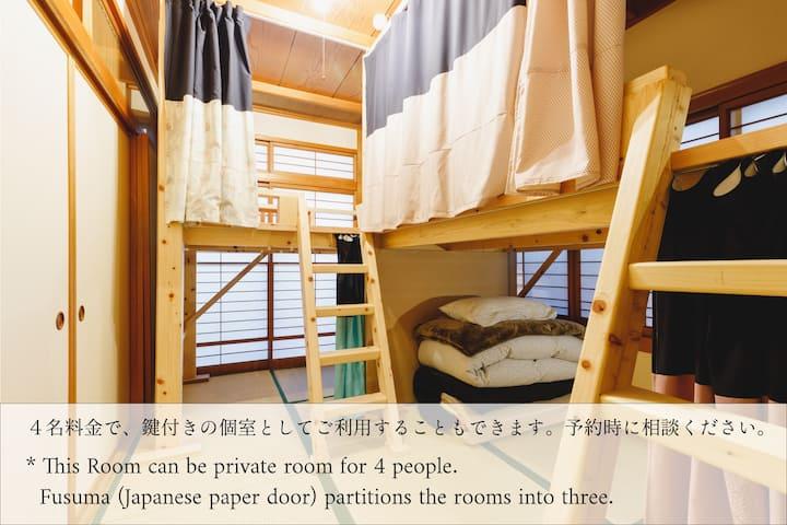 3min walk to castle | Couch Potato Hostel Dorm