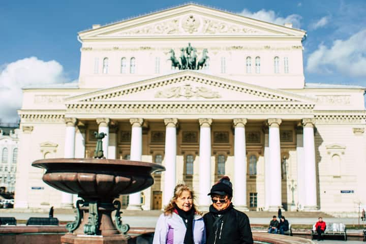 Admire the Bolshoi Theatre