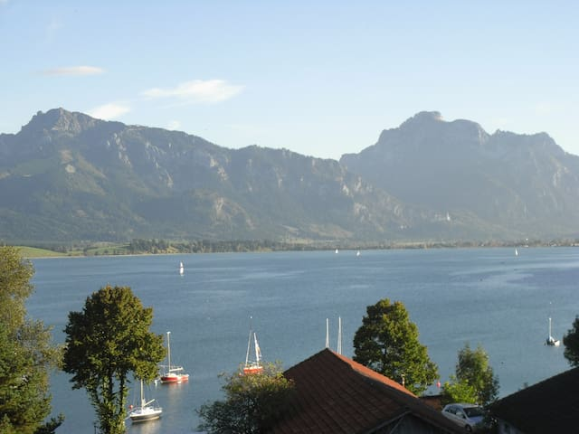 Quartier direkt am See - Appartement Coloman - Rieden am Forggensee - Apartamento