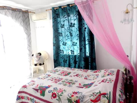 Apartment with 3 bedrooms in Calodyne, with enclosed garden and WiFi