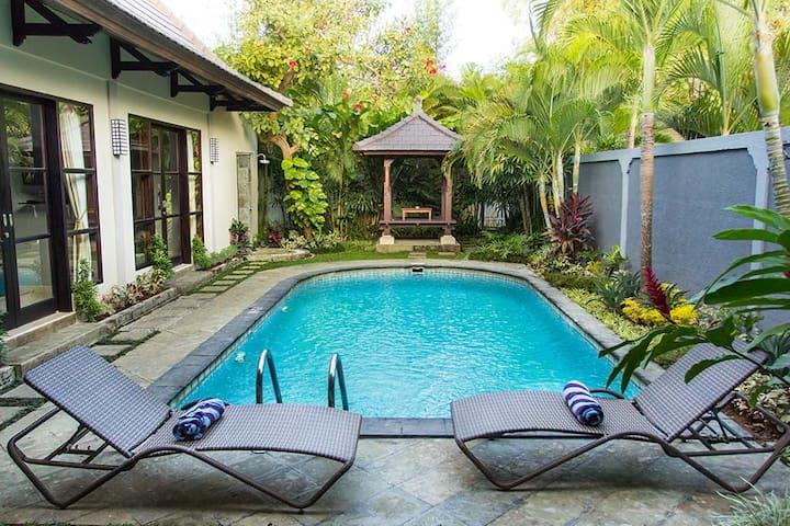 1 Bdr Villa with Private Pool in Kerobokan- Canggu - North Kuta - Villa