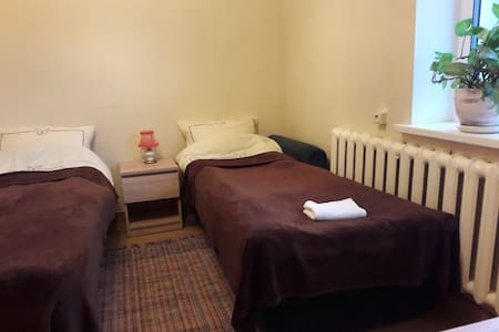 Affordable Twin Bedroom in House with Garden