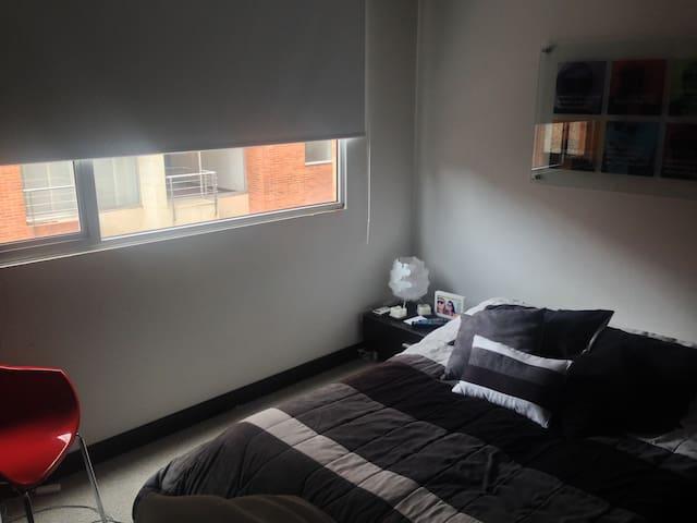 Main room. Full bed