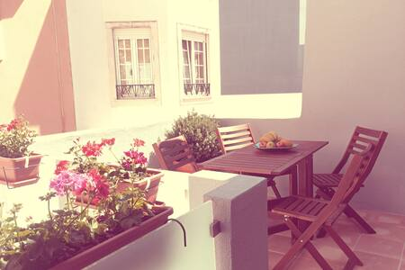 A Casa dos Pátios II - Aveiro - Дом