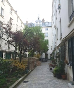 Nice and calm studio centrum Paris - París - Pis
