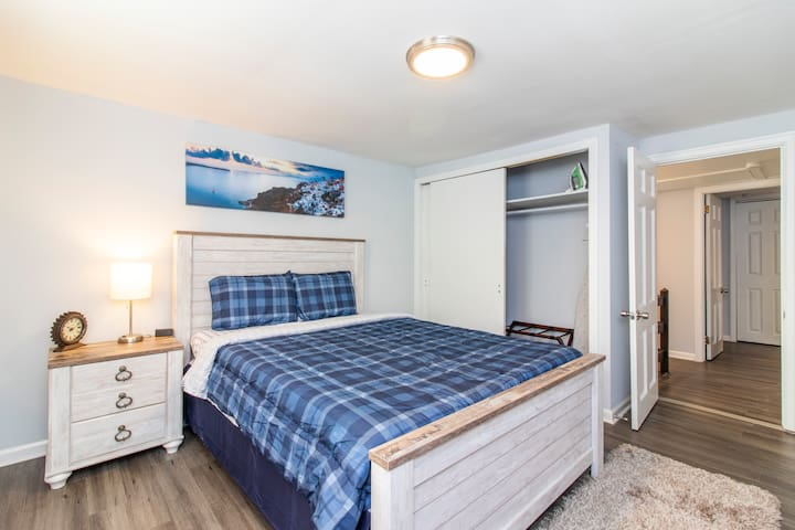 Bedroom #1 - our mattresses are extremely comfortable!