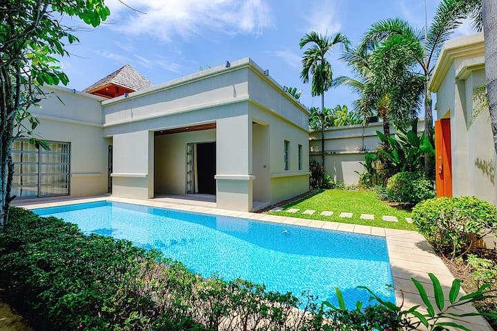 Beautiful 2BR pool villa walk to Bangtao beach3