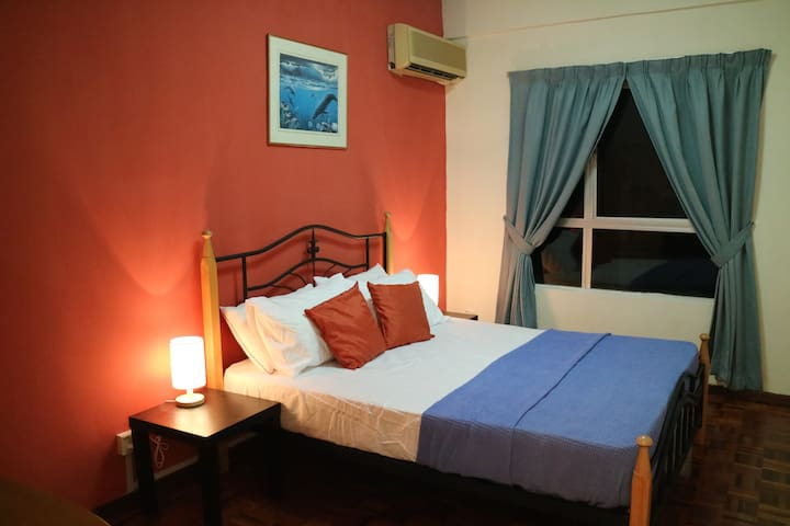 Rooms with serene night view