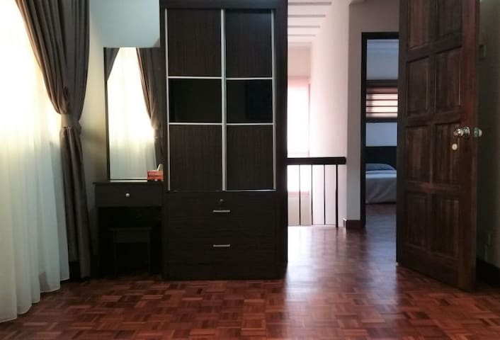 Cupboard and dressing table