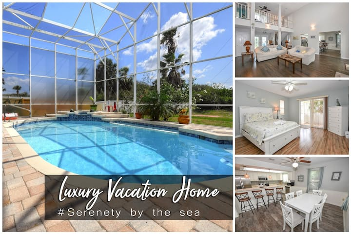Serenity by the Sea - Luxury Pool Home - 4BR/3.5BA
