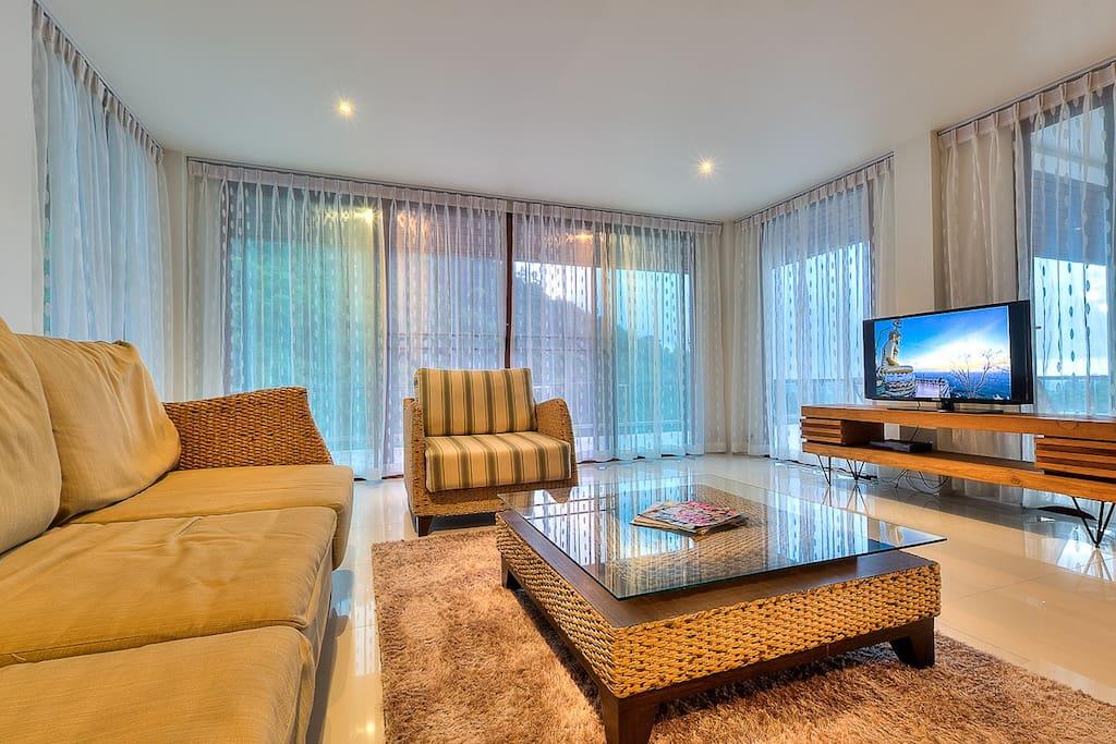 Living room vistas.