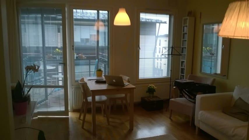 One bedroom with sauna in Helsinki - Helsinki - Apartment