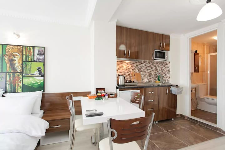 Studio with Breathtaking Sea View at Sultanahmet