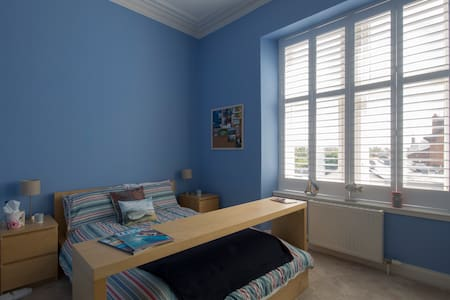 Double ensuite room and snug on Ardrossan seafront - Ardrossan