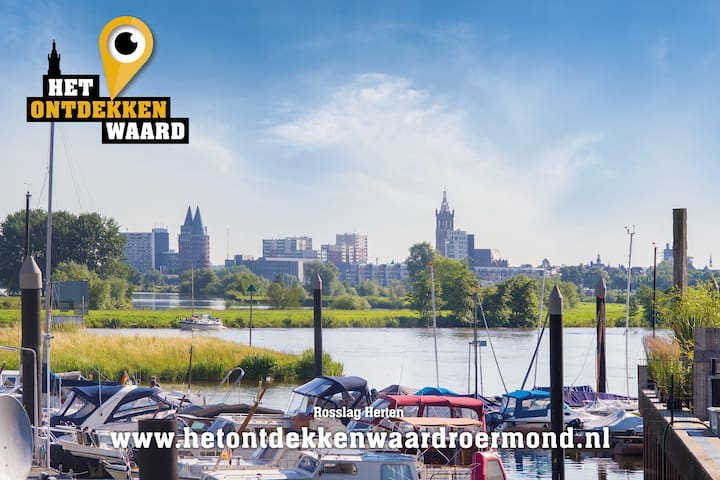 Roermond near Designer Outlet Shopping Center. - Roermond
