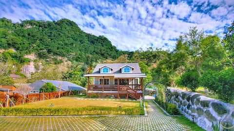 Happy Minor Architecture in Sanwan - Brand New - Private Building Honor Enjoy Light Travel Family Peaceful Travel Outdoor Area Large Turf