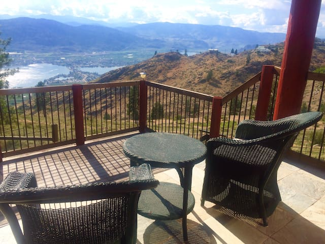 The Ginger Bread House overlooking Osoyoos Lake