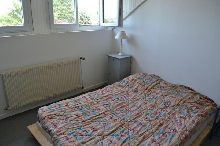 Appart 32 m2, 2 chambres dans maison de charme