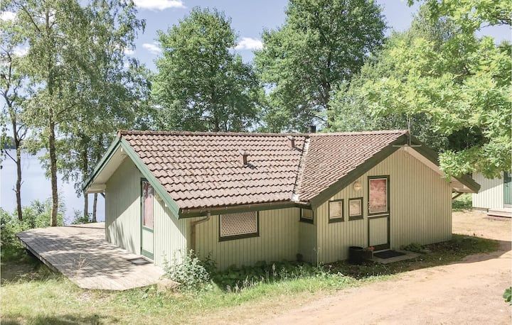 Nice home in Lidhult with Sauna and 3 Bedrooms