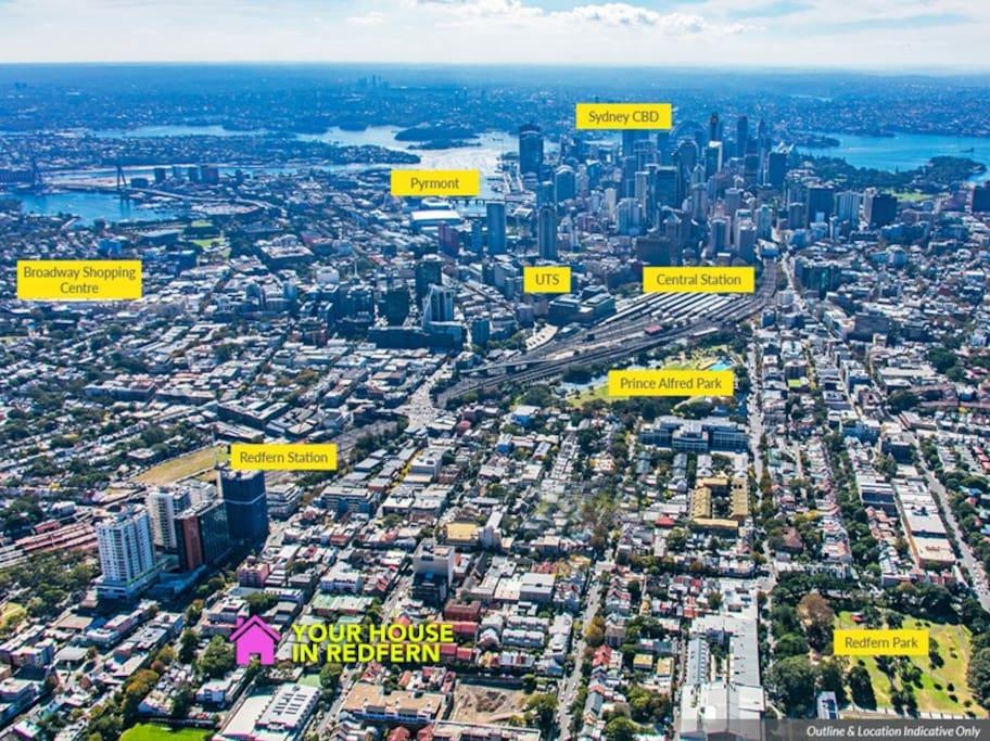 Inner city Sydney