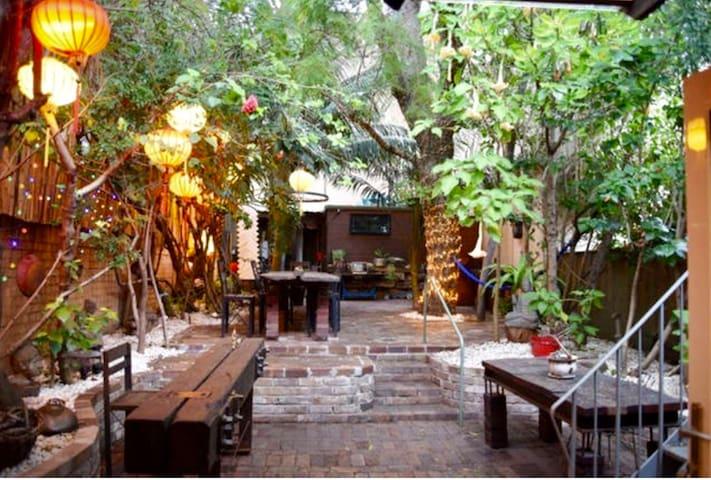 Leafy Green Garden Studio Room
