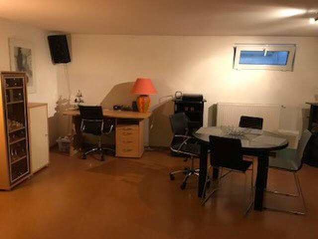 Proche Bâle : studio 25 m2 en maison d'architecte